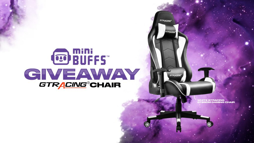 miniBUFFS | Gaming Chair Giveaway - Vast | Expand Your Reach