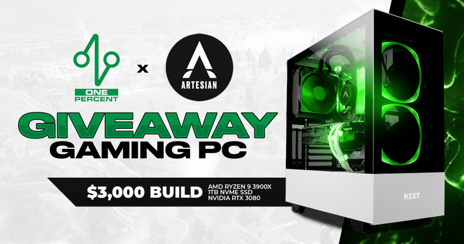 Artesian Builds & One Percent Giveaway