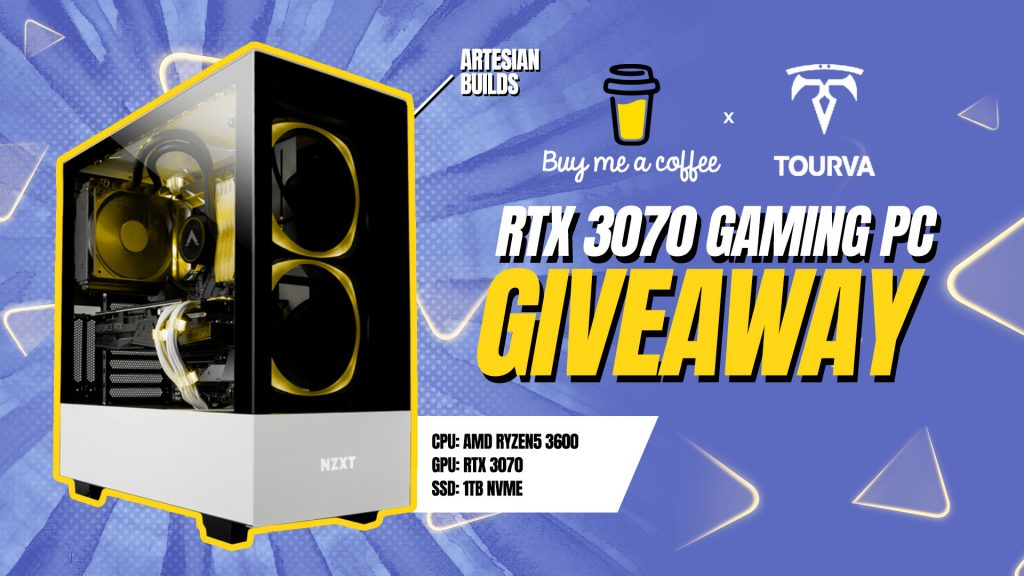 online contests, sweepstakes and giveaways - Buy Me A Coffee | $2,000 RTX 3070 Gaming PC Giveaway - Vast | Expand Your Reach