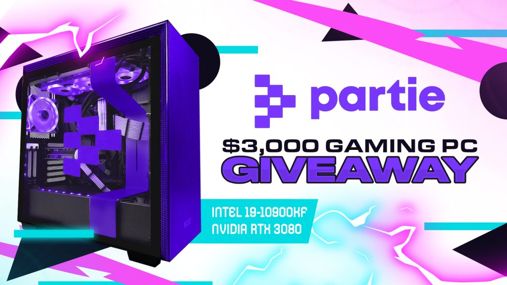 Partie | $3,000 NVIDIA GeForce RTX 3080 Gaming PC Giveaway - Vast | Expand Your Reach